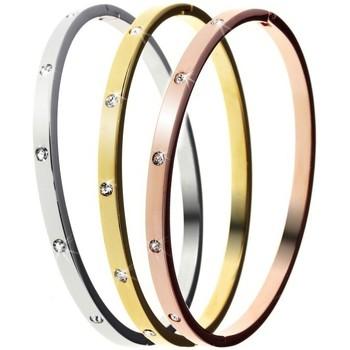Montres & Bijoux Femme Bracelets Sc Crystal B1372-TRIO Argenté