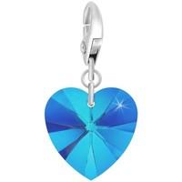 Montres & Bijoux Femme Pendentifs Sc Crystal CH1251-ARGENT-SAPH Bleu