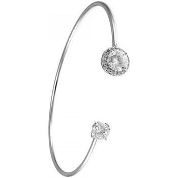 Montres & Bijoux Femme Bracelets Sc Crystal B1079-ROND-ARGENT Argenté