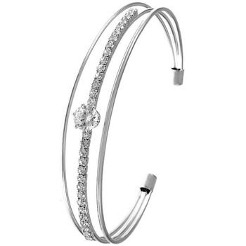 Montres & Bijoux Femme Bracelets Sc Crystal B1080-ARGENT Argenté