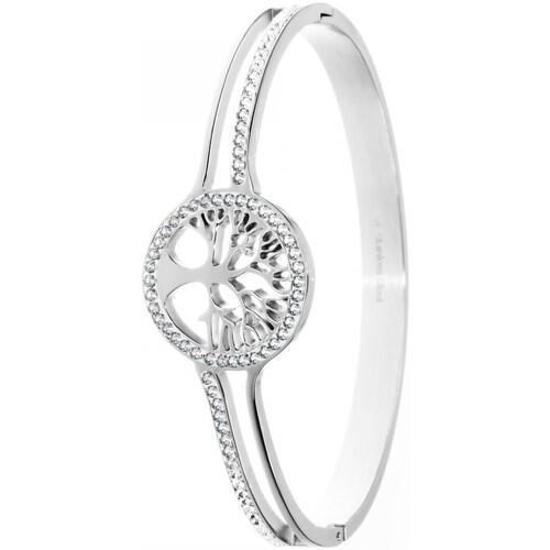 B1564 Femme Bracelets Argenté Crystal Sc EH29ID