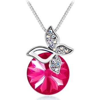 Montres & Bijoux Femme Colliers / Sautoirs Sc Crystal B1280-COLLIER-FUSH Rose