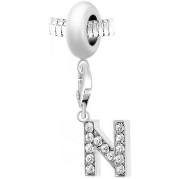 Montres & Bijoux Femme Pendentifs Sc Crystal BEA0044+CH0027-ARGENT Argenté
