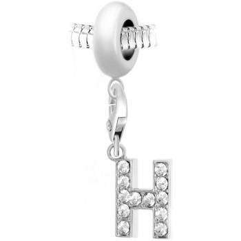 Montres & Bijoux Femme Pendentifs Sc Crystal BEA0044+CH0021-ARGENT Argenté