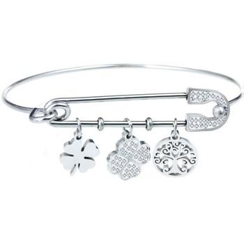 Montres & Bijoux Femme Bracelets Sc Crystal B1503-ARGENT Argenté