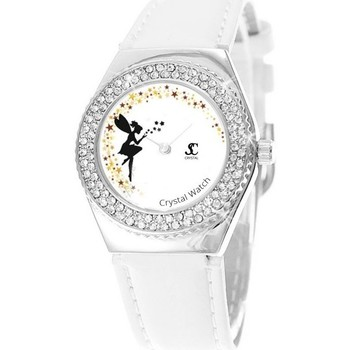 Montres & Bijoux Femme Montres Analogiques Sc Crystal MF316-FEE-BLANC Blanc