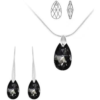 Montres & Bijoux Femme Parures Sc Crystal BS003-SN016+BS010-SE003-SINI+E000 Argenté