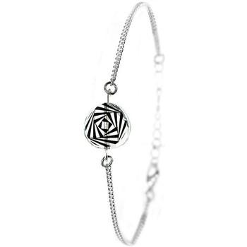 Montres & Bijoux Femme Bracelets Sc Crystal BS002-SB048-RAYE Noir