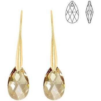 Montres & Bijoux Femme Boucles d'oreilles Sc Crystal BS010-SE019-GOSH Doré