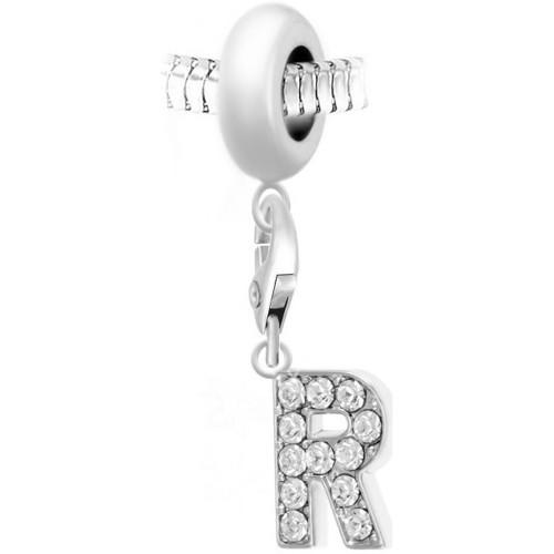Femme Pendentifs Argenté Crystal argent Sc Bea0044 ch0031 LRj54A