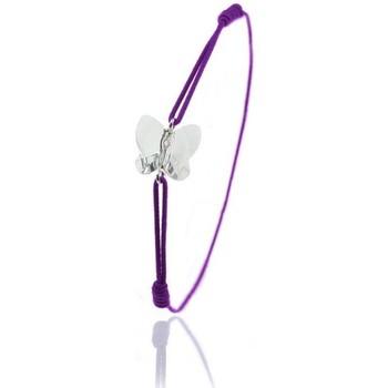 Montres & Bijoux Femme Bracelets Sc Crystal BS030-SB051-CRYS Violet