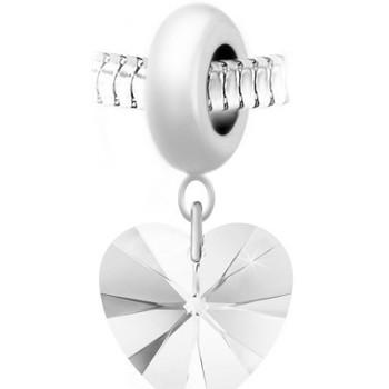 Montres & Bijoux Femme Pendentifs Sc Crystal BEA0044+BS009-CRYS Blanc