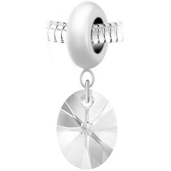 Montres & Bijoux Femme Pendentifs Sc Crystal BEA0044+BS008-CRYS Blanc