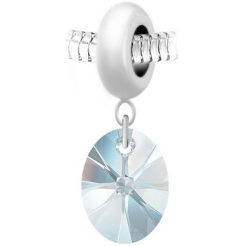 Montres & Bijoux Femme Pendentifs Sc Crystal BEA0044+BS008-IRIS Blanc