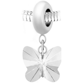 Montres & Bijoux Femme Pendentifs Sc Crystal BEA0044+BS030-CRYS Blanc