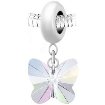 Montres & Bijoux Femme Pendentifs Sc Crystal BEA0044+BS030-IRIS Blanc