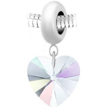 Montres & Bijoux Femme Pendentifs Sc Crystal BEA0044+BS009-IRIS Blanc