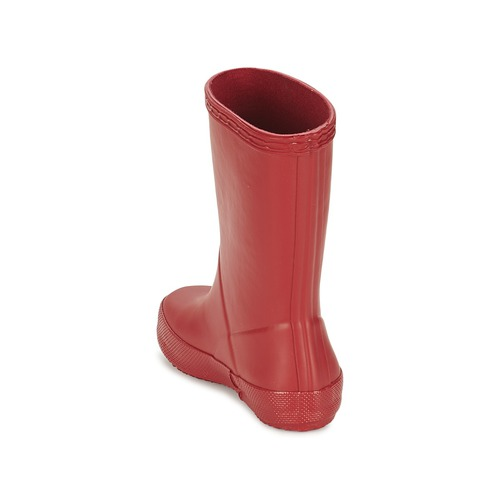 Hunter Rouge Kids Pluie First De Chaussures Classic Enfant Bottes XNn8wOZ0Pk