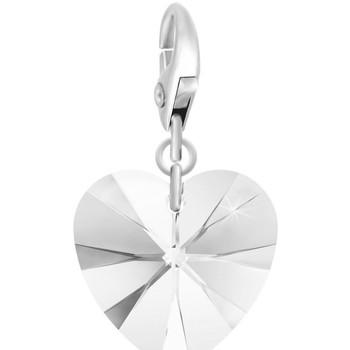 Montres & Bijoux Femme Pendentifs Sc Crystal CH1251-ARGENT-CRYS Blanc