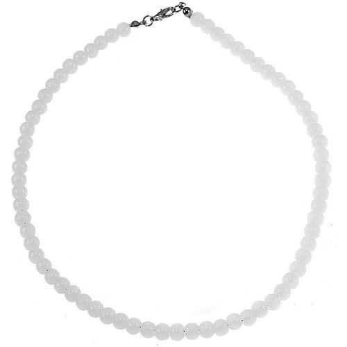 Crystal Sc ColliersSautoirs Femme Sn015 Blanc bgfy76