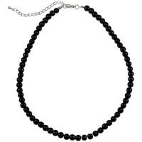 Montres & Bijoux Femme Colliers / Sautoirs Sc Crystal SN015 noir Noir