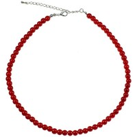 Montres & Bijoux Femme Colliers / Sautoirs Sc Crystal SN015 rouge Rouge