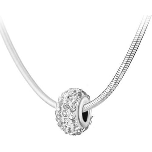 Blanc Sc ColliersSautoirs Femme Crystal sn016 Bea0031 thdCQBsxr