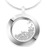 Montres & Bijoux Femme Colliers / Sautoirs Sc Crystal BS1362-CRYS Blanc
