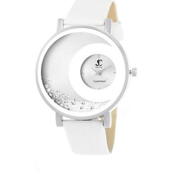 Montres & Bijoux Femme Montres Analogiques Sc Crystal MF311-BLANC Blanc