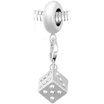 Montres & Bijoux Femme Pendentifs Sc Crystal BEA0044+CH0002-argent Argenté