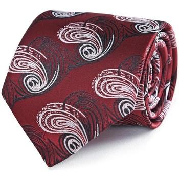 Vêtements Homme Cravates et accessoires Dandytouch Cravate Atalante Bordeaux