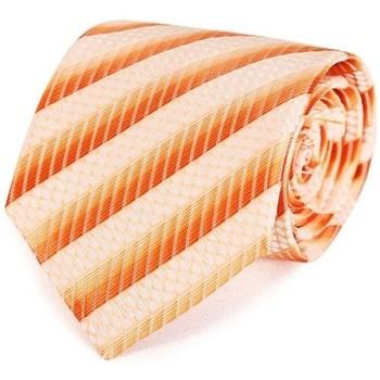 Vêtements Homme Cravates et accessoires Dandytouch Cravate Graffiti Orange