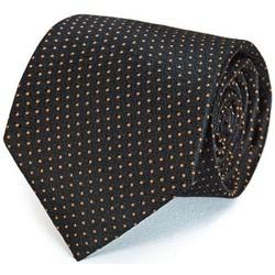 Vêtements Homme Cravates et accessoires Dandytouch Cravate Maly Noir