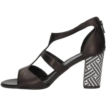 Chaussures Femme Sandales et Nu-pieds Linea Uno A-F686SP NOIR