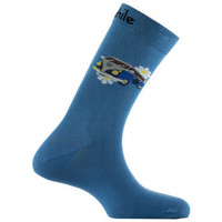 Accessoires Homme Chaussettes Achile Mi-chaussettes motif Van Hippie en coton Bleu