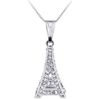 Montres & Bijoux Femme Colliers / Sautoirs Sc Crystal BP053 Argenté