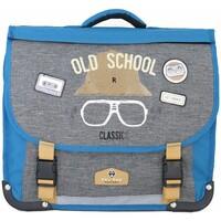 Sacs Enfant Cartables Pol Fox Cartable réversible  ref_ca38 Old School Bl bleu