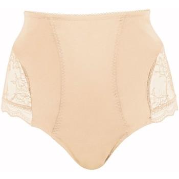 Sous-vêtements Femme Culottes gainantes Pommpoire Culotte haute amincissante chair Sensuelle Beige