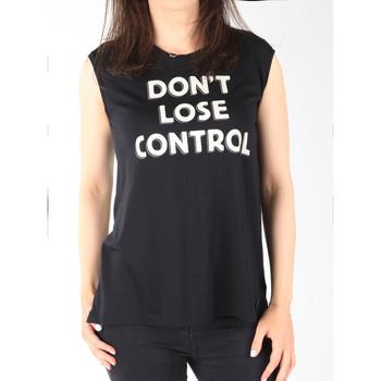Vêtements Femme Débardeurs / T-shirts sans manche Lee T-shirt  Muscle Tank Black L42CPB01 czarny