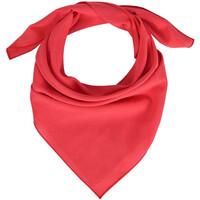 Accessoires textile Femme Echarpes / Etoles / Foulards Allée Du Foulard Bandana coton uni Rouge