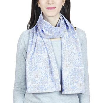 Accessoires textile Femme Echarpes / Etoles / Foulards Baisers Salés Echarpe légère Laguna Bleu