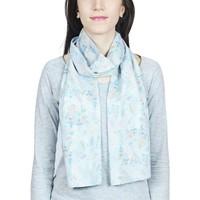 Accessoires textile Femme Echarpes / Etoles / Foulards Baisers Salés Echarpe légère Fauna Bleu