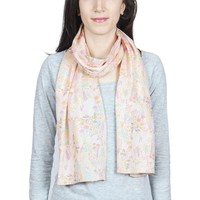 Accessoires textile Femme Echarpes / Etoles / Foulards Baisers Salés Echarpe légère Fauna Jaune