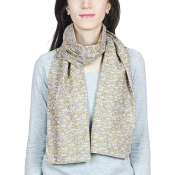 Accessoires textile Femme Echarpes / Etoles / Foulards Baisers Salés Echarpe légère Figlia Taupe