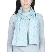 Accessoires textile Femme Echarpes / Etoles / Foulards Baisers Salés Echarpe légère Rueda Ciel