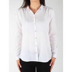 Vêtements Femme Chemises / Chemisiers Wrangler L/S Relaxed Shirt W5190BD12 biały