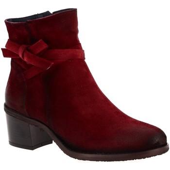Chaussures Femme Bottines Dorking 7335 rouge