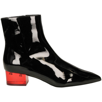 Chaussures Femme Low boots Jeffrey Campbell JCS LUMINOUS PATENT blare-nero-rosso