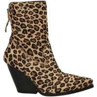 Chaussures Femme Bottines Poesie Veneziane CAVALLINO SAFARI leopa-leopardo