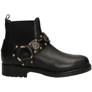 Chaussures Femme Bottines Albano RIO neror-nero-oro